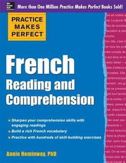 Book Practice Makes Perfect French Reading and Comprehension by Annie Heminway