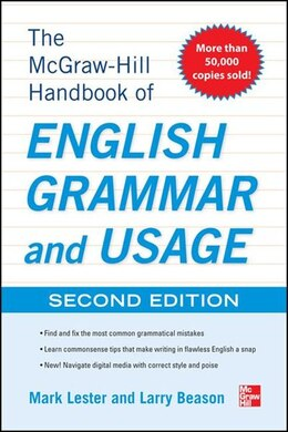 Book McGraw-Hill Handbook of English Grammar and Usage, 2nd Edition: With 160 Exercises by Mark Lester