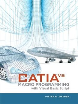 Book CATIA V5: Macro Programming with Visual Basic Script by Dieter Ziethen