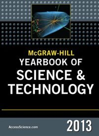 Book McGraw-Hill Yearbook of Science and Technology 2013 by McGraw-Hill Education