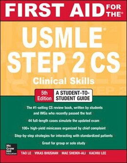 Book First Aid for the USMLE Step 2 CS, Fifth Edition by Tao Le