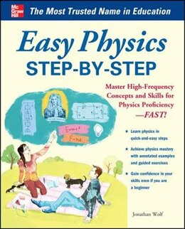 Book Easy Physics Step-by-Step: With 95 Solved Problems by Jonathan Wolf
