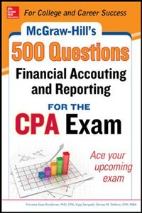 Book Mcgraw-hill Education 500 Financial Accounting And Reporting Questions For The Cpa Exam by Frimette Kass-Shraibman