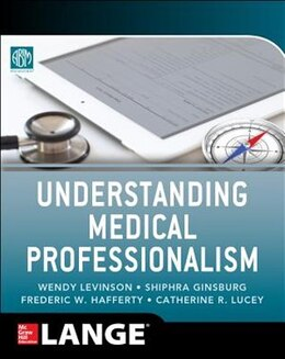 Book Understanding Medical Professionalism by American Board of Internal Medicine Foundation
