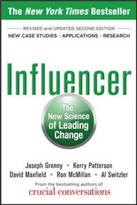 Book Influencer: The New Science of Leading Change, Second Edition (Paperback) by Joseph Grenny