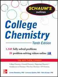 Schaum's Outline of College Chemistry: 1,340 Solved Problems + 23 Videos by Jerome Rosenberg