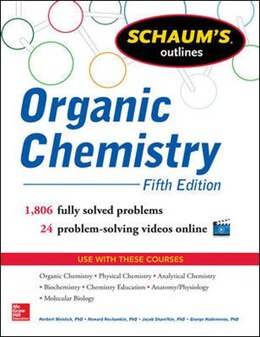 Book Schaum's Outline of Organic Chemistry: 1,806 Solved Problems + 24 Videos by Herbert Meislich