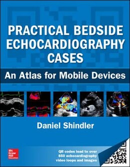 Book Practical Bedside Echocardiography Cases by Daniel M. Shindler