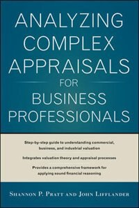 Book Analyzing Complex Appraisals for Business Professionals by Shannon P. Pratt