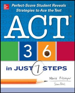 Book ACT 36 in Just 7 Steps by Maria Filsinger
