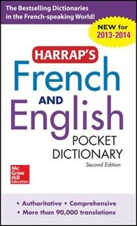 Book Harrap's French and English Pocket Dictionary by Harrap