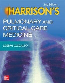Book Harrison's Pulmonary and Critical Care Medicine, 2e by Joseph Loscalzo