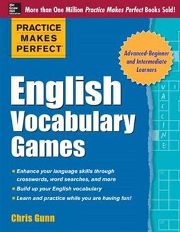 Book Practice Makes Perfect English Vocabulary Games by Chris Gunn