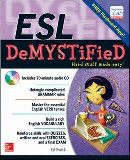 Book ESL DeMYSTiFieD by Ed Swick