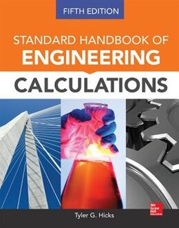 Book Standard Handbook of Engineering Calculations, Fifth Edition by Tyler G. Hicks