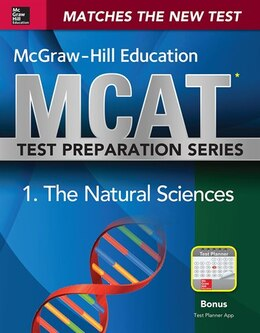 Book McGraw-Hill Education MCAT Biological and Biochemical Foundations of Living Systems 2015, Cross… by George J. Hademenos