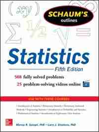 Schaum's Outline of Statistics, 5th Edition by Murray R. Spiegel