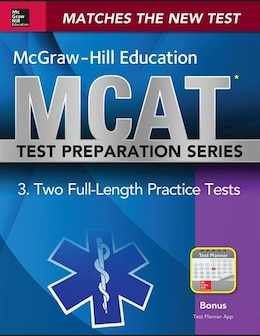 Book McGraw-Hill Education MCAT 2 Full-length Practice Tests 2015, Cross-Platform Edition: 2 Full-Length… by George J. Hademenos