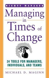 Book Managing in Times of Change by Michael Maginn