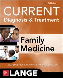 Book CURRENT Diagnosis & Treatment in Family Medicine, 4th Edition by Jeannette South-Paul