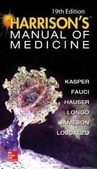 Book Harrisons Manual of Medicine, 19th Edition by Dennis L. Kasper