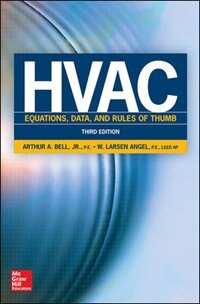 Book HVAC Equations, Data, and Rules of Thumb, Third Edition by Arthur Bell