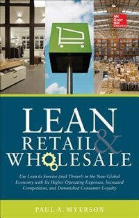 Book Lean Retail and Wholesale by Paul Myerson