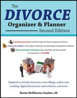 The Divorce Organizer and Planner with CD-ROM, 2nd Edition