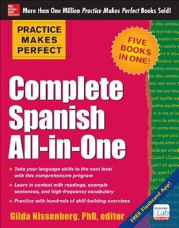 Book Practice Makes Perfect Complete Spanish All-in-One by Gilda Nissenberg