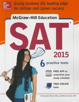 Book McGraw-Hill Education SAT 2015 by Christopher Black