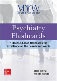 Book Master the Wards: Psychiatry Flashcards by Niket Sonpal