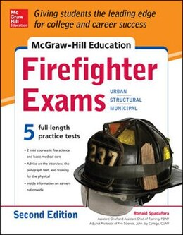 Book McGraw-Hill Education Firefighter Exam, 2nd Edition by Ronald Spadafora