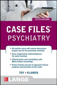 Book Case Files Psychiatry, Fifth Edition by Eugene Toy