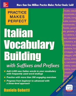 Book Practice Makes Perfect: Italian Vocabulary Builder by Daniela Gobetti