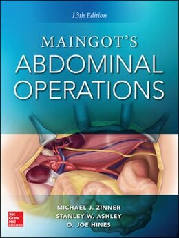 Book Maingot's Abdominal Operations. 13th edition by Michael Zinner