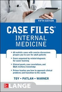 Book Case Files Internal Medicine, Fifth Edition by Eugene Toy