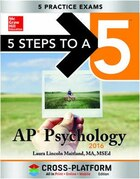 5 Steps to a 5 AP Psychology 2016, Cross-Platform Edition