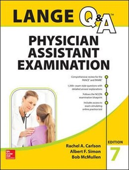 Book LANGE Q&A Physician Assistant Examination, Seventh Edition by Rachel Carlson