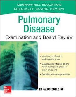Book Pulmonary Disease Examination and Board Review by Ronaldo Collo Go