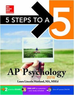 Book 5 Steps to a 5 AP Psychology 2016 by Laura Lincoln Maitland