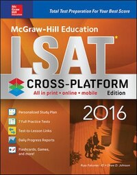 McGraw-Hill Education LSAT 2016, Cross-Platform Edition