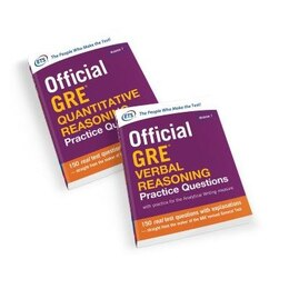 Book Official GRE Value Combo by Educational Testing Service