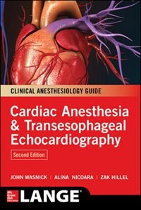Book Cardiac Anesthesia and Transesophageal Echocardiography by John Wasnick