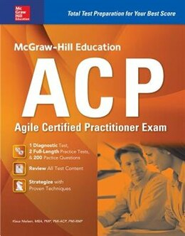 Book McGraw-Hill Education ACP Agile Certified Practitioner Exam by Klaus Nielsen