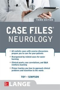 Book Case Files Neurology, Third Edition by Eugene Toy