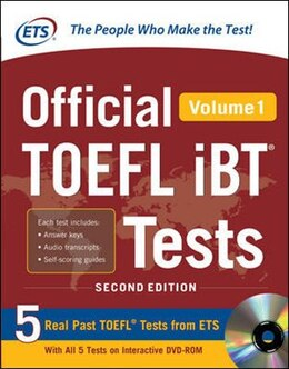 Book Official TOEFL iBT® Tests Volume 1, 2nd Edition by Educational Testing Service