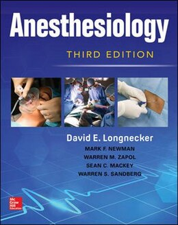 Book Anesthesiology, 3/e by David Longnecker