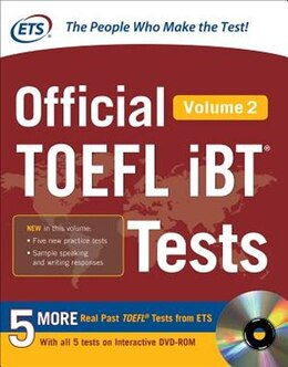 Book Official TOEFL iBT® Tests Volume 2 by Educational Testing Service