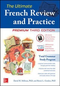 Book The Ultimate French Review and Practice, Premium Third Edition by David Stillman
