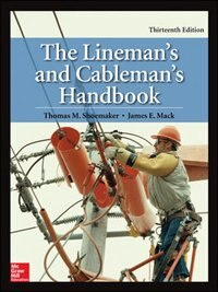 Book The Lineman's and Cableman's Handbook, Thirteenth Edition by Thomas M. Shoemaker